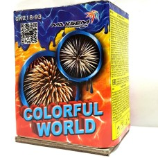 "Малая салютная установка ""Colorfull world"" GW218-93"