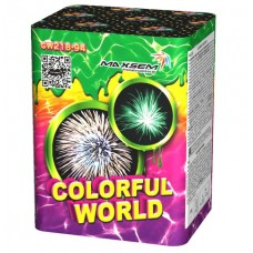 "Малая салютная установка ""Colorfull world"" GW218-94"