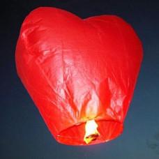 Небесный фонарик (сердце)